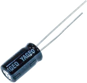 SH250M1R00BZF0611, Электролитический конденсатор 250В 1мкФ 6.3*11мм 105 C