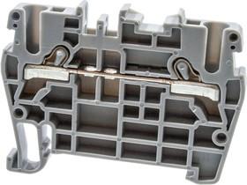 PYK2,5 (серый), Клеммник пруж. быстрозажимной (Push in), 2,5 мм.кв.