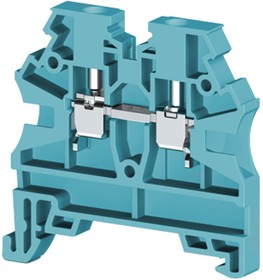 AVK2,5 RD (синий), Клеммник на DIN-рейку 2,5мм.кв.