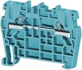 PYK2,5 (синий), Клеммник пруж. быстрозажимной (Push in), 2,5 мм.кв.