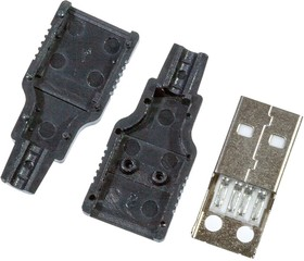 USB AM кожух, пластиковый кожух для USB вилки на кабель   купить в розницу и оптом