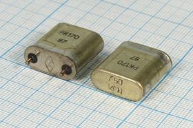 кварцевый резонатор 750кГц с большим кристаллом в корпусе БА=HC6U, 750 \HC6U\\\\РК170БА\1Г
