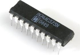 IN74AC373N, 8-разрядный регистр, упр.по уровню, с паралл.вводом-выводом данных с выходом на три сост.[2140.20-В]