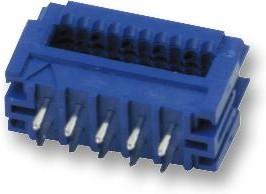 69830-014LF, Разъем типа провод-плата, проходной, 2.54 мм, 14 контакт(-ов), Штыревой Разъем, Серия Quickie