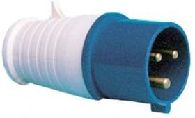 SQ0601-0001, Вилка на кабель 16А 220В 2P+PE