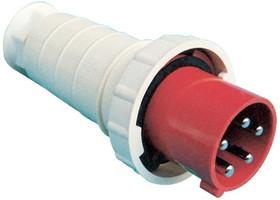 SQ0601-0003, Вилка на кабель 16А 380В 3P+PE+N