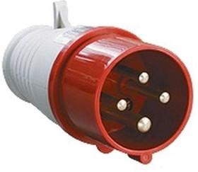 SQ0601-0005, Вилка на кабель 32А 380В 3P+PE