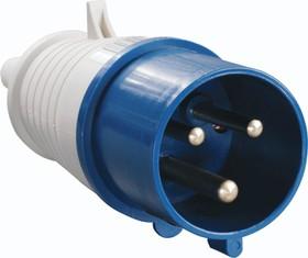 SQ0601-0004, Вилка на кабель 32А 220В 2P+PE