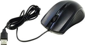 Мышь OKLICK 225M оптическая проводная USB, черный [mo-353]