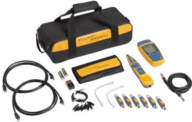 Фото 1/3 MS2-KIT, Тестер кабельный MicroScanner2 для работы с витой парой, телефонным и коаксиальным кабелем