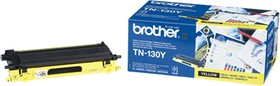 TN130Y, Тонер Brother Тонер-картридж TN130Y для HL-4040CN, HL-4050CDN, DCP-9040CN, MFC-9440CN жёлтый (1500 с