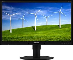 231B4QPYCB (00/01), Монитор LCD 23'' [16:9] 1920х1080 IPS, nonGLARE, 250cd/m2, H178°/V178°, 20М:1, 5ms, VGA, DVI, DP, US
