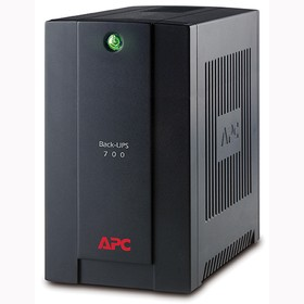Фото 1/2 BX700UI, Источник бесперебойного питания APC Back-UPS BX, Line-Interactive, 700VA / 390W, Tower, IEC, USB