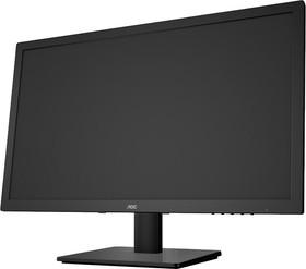 E975SWDA, Монитор LCD 18,5'' [16:9] 1366х768 TN, nonGLARE, 250cd/m2, H170°/V160°, 200M:1, 5ms, VGA, DVI, Tilt,