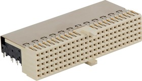 10127156-101LF, CONNECTOR, BACKPLANE, RCPT, 125POS