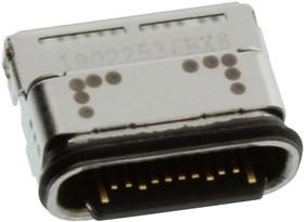 124018802112A, USB CONN, 3.1 TYPE C, RCPT, 24POS, SMT