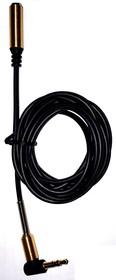 Фото 1/2 PL1055, Кабель Jack 3.5 mm вилка - Jack 3.5 розетка, удлинитель, стерео-аудио, 1.5 м (прямой/угловой)