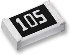 Фото 1/3 ERA6AEB134V, SMD чип резистор, тонкопленочный, 0805 [2012 Метрический], 130 кОм, Серия ERA, 100 В, Тонкая Пленка