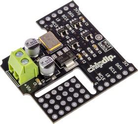 DSPO 12.288 I2S LINK, Генератор 12.288 МГц, коммутатор I2S, стабилизатор напряжения 3.3В