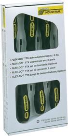 22606, Набор отверток FLEX-DOT, 6шт