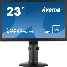 XB2380HS-B1, Монитор LCD 23'' [16:9] 1920х1080 IPS, nonGLARE, 250cd/m2, H178°/V178°, 1000:1, 5М:1, 16,7M Color, 5