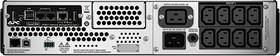 SMT3000RMI2UNC, Smart-UPS SMT, Line-Interactive, 3000VA / 2700W, Rack, IEC, LCD, Serial+USB, SmartSlot, with Network