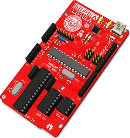 Верба, Arduino Uno + программатор Arduino as ISP, CP2102