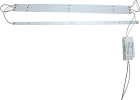 """Фото 1/2 12-12, Комплект светодиодный """"Армстронг"""" для потолочных светильников, smd 5730,4х9Вт,4х520мм,6500К"""