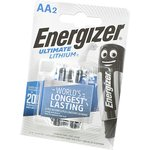 Energizer Ultimate LITHIUM FR6 BL2, Элемент питания