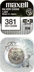 MAXELL SR1120SW 381 (0%Hg), Элемент питания