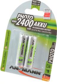 ANSMANN PHOTO 5030492-RU AA 2400мАч BL2, Аккумулятор
