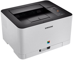 Принтер SAMSUNG Xpress C430, лазерный, цвет: белый [sl-c430/xev]