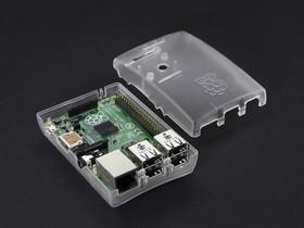 Фото 1/6 Case for Raspberry Pi Model B+ / Pi 2 [CLEAR], Корпус для одноплатного компьютера Raspberry Pi Model B+ / Pi 2
