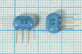Керамические резонаторы 12МГц с тремя выводами, пкер 12000 \C09x5x07P3\\5000\ \CST12,00MTW\3P (12.0T)