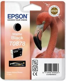 Картридж EPSON T0878 черный матовый [c13t08784010]