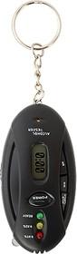 131005, Алкотестер-брелок электронный, с трехдиодной индикацией ( таймер, обратный отсчет, часы, подсветка)