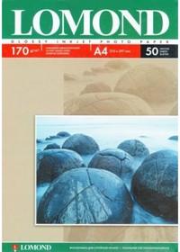 Фотобумага LOMOND 0102142, для струйной печати, A4, 170г/м2, 50 листов