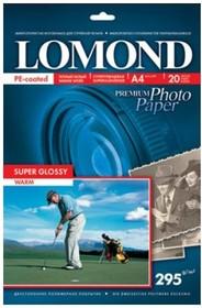 Фотобумага Lomond 1108101 A4/295г/м2/20л./белый высокоглянцевое для струйной печати