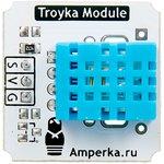 Фото 3/3 Troyka-Temperature Humidity Sensor DHT11, Цифровой датчик температуры и влажности