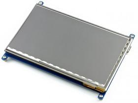 Фото 1/4 7inch HDMI LCD (C), HDMI дисплей 1024×600px с емкостной сенсорной панелью для Raspberry Pi
