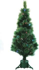 """533-203, Новогодняя Ель """"Сосна"""", фибро-оптика , фибро-оптика, 120 см, 83 ветки, без насадок"""