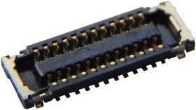 5037722410, Conn Board to Board RCP 24 POS 0.4mm Solder ST SMD SlimStack B8™ T/R