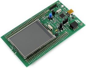 """Фото 1/2 STM32F429I-DISC1, Отладочная плата на базе MCU STM32F429ZIT6 (ARM Cortex-M4), ST-LINK/V2-B, gyroscope, 2.4"""" LCD"""
