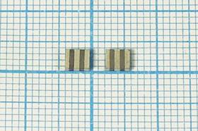 Керамические резонаторы 18МГц, SMD 3.7x3.1мм с тремя контактами, пкер 18000 \C03731C3\\4000\ \ZTTCV18,0MX\