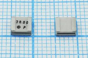 Керамические резонаторы 20МГц, SMD 4.7x4.1мм с двумя контактами, пкер 20000 \C04741C2\\5000\3000/- 20~80C\CSACS20,0MX040\