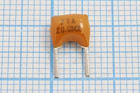Керамические резонаторы 20МГц с двумя выводами, пкер 20000 \C07x5x08P2\\\ \ZTA20,0MX\2P