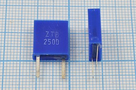 Керамические резонаторы 250кГц с двумя выводами, 250 \C11x4x13P2\\3000\\ ZTB250D\2P-1(250D)