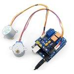 Фото 2/4 Motor Control Shield, Плата расширения для Arduino на базе 2 х L293D, позволяет управлять 4 DC или 2 шаговыми двигателями