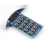 Фото 5/5 4x4 Keypad, Клавиатура для Arduino проектов, 16 кнопок (матрица 4х4)