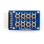 Фото 2/5 8 Push Buttons, Клавиатура для Arduino проектов, 8 кнопок (матрица 4х2)